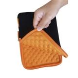 """Pouzdro na tablet GoGEN TA7CASEO pro 7"""" s bublinkami - černé/oranžové"""