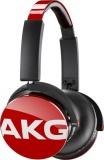 Sluchátka AKG Y50 - červená