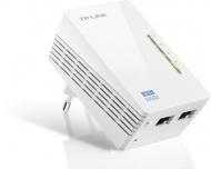 Síťový rozvod LAN po 230V TP-Link TL-WPA4220 WiFi N300 průchozí