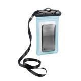 Pouzdro na mobil Ferrino vodotěsný TPU WATERPROOF BAG 10x18 - modrý