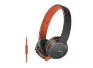 Sluchátka Sony MDRZX660APD.CE7 - oranžová