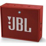 Přenosný reproduktor JBL GO, červený