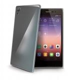 Kryt na mobil Celly Gelskin pro Huawei P8 - průhledný