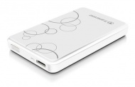 "HDD ext. 2,5"" Transcend StoreJet A3 1TB - bílý"