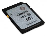 Paměťová karta Kingston SDXC 64GB UHS-I U1 (45R/10W)