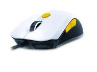 Myš Genius GX Gaming Scorpion M6-600 / optická / 6 tlačítek / 5000dpi - bílá/žlutá