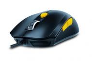 Myš Genius GX Gaming Scorpion M6-600 / optická / 6 tlačítek / 5000dpi - černá/žlutá