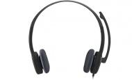Headset Logitech H151 - černý