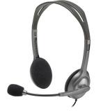 Headset Logitech H111 - šedý