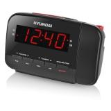 Radiobudík Hyundai RAC 481 PLLBR, černý/červený