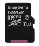 Paměťová karta Kingston MicroSDXC 128GB UHS-I U1 (45R/10W)