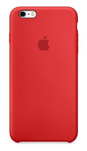 Kryt na mobil Apple Silicone Case pro iPhone 6 6s (PRODUCT)RED™ - červený 234450e71b2