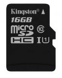 Paměťová karta Kingston MicroSDHC 16GB UHS-I U1 (45R/10W)