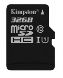 Paměťová karta Kingston MicroSDHC 32GB UHS-I U1 (45R/10W)