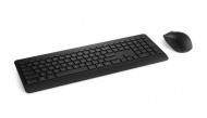 Klávesnice s myší Microsoft Wireless Desktop 900, USB, CZ/SK - černá
