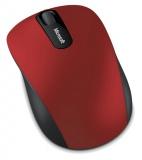 Myš Microsoft Bluetooth Mobile Mouse 3600 / optická / 3 tlačítka / 1000dpi - černá/červená