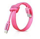 Kabel ADATA Sync & Charge USB/Lightning, 1m, MFi - růžový