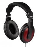 Sluchátka Hama HK-5618 - černá/červená