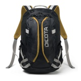 Batoh na notebook DICOTA Active pro 14-15,6\'\' - černý/žlutý
