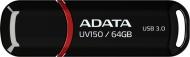 Flash USB ADATA UV150 64GB USB 3.0 - černý