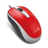 Myš Genius DX-120 / optická / 3 tlačítka / 1200dpi - červená