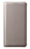 Pouzdro na mobil flipové Samsung pro Galaxy A5 2016 (EF-WA510P) - zlaté