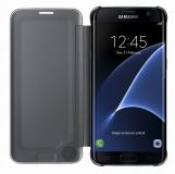 Pouzdro na mobil flipové Samsung Clear View pro Galaxy S7 Edge (EF-ZG935C) - černé
