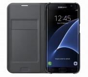 Pouzdro na mobil flipové Samsung pro Galaxy S7 Edge (EF-WG935P) - černé