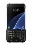 Kryt na mobil Samsung s klávesnicí pro Galaxy S7 Edge (EJ-CG935U) - černý