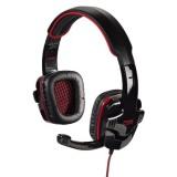 Headset Hama Fire Starter - černý/červený