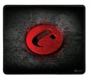 Podložka pod myš C-Tech ANTHEA, 32 x 27 cm - černá/červená