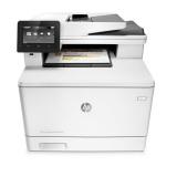 Tiskárna multifunkční HP LaserJet Pro MFP M477fdw A4, 27str./min, 27str./min, 600 x 600, 256 MB, duplex, WF, USB - bílá