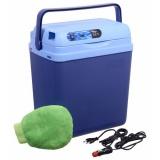 Autochladnička Compass 25 l BLUE 220/12 V displej s teplotou
