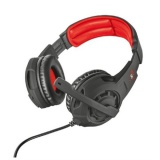 Headset Trust GXT Gaming 310 Radius - černá/červená