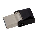 Flash USB Kingston DataTraveler Micro Duo 3.0 64GB USB 3.0 - černý