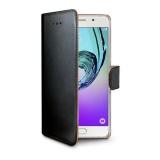Pouzdro na mobil flipové Celly Wally na Samsung Galaxy A5 (2016) - černé