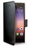Pouzdro na mobil flipové Celly Wally pro Huawei P8 Lite - černé