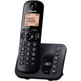 Domácí telefon Panasonic KX-TGC220FXB  se záznamníkem - černý