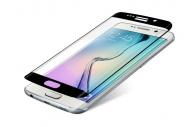 Ochranné sklo InvisibleSHIELD Glass Contour pro Samsung Galaxy S6 Edge - černý rám