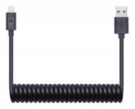 Kabel Connect IT Wirez USB/Lightning, 1,2 m - černý