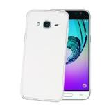 Kryt na mobil Celly Gelskin pro Samsung Galaxy J3 (2016) - průhledný