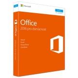 Software Microsoft Office 2016 CZ pro domácnosti