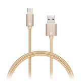 Kabel Connect IT Wirez Premium USB-C, 1m - zlatý
