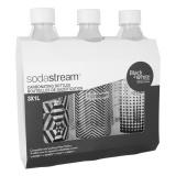 Láhev SodaStream 1l TriPack Fuse Black&White