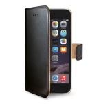 Pouzdro na mobil flipové Celly Wally pro Apple iPhone 8 Plus / 7 Plus - černé