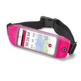 """Pouzdro na mobil sportovní Celly Runbelt, na 5,5"""" - růžové"""