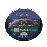 Disk Verbatim DVD-R M-Disc 4,7GB, 4x, printable, 10cake