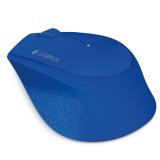 Myš Logitech Wireless Mouse M280 / optická / 3 tlačítka / 1000dpi - modrá