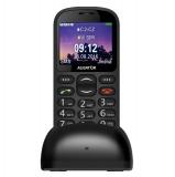 Mobilní telefon Aligator A880 GPS Senior - černý