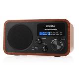 Radiopřijímač Hyundai PR 309 W, dřevěné provedení